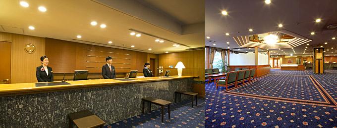 名鉄グランドホテルの館内施設のご案内